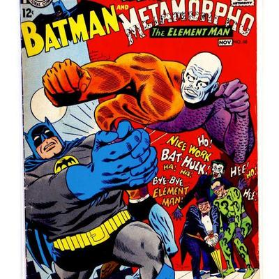 BRAVE and the BOLD #68 BATMAN & Metamorpho 1966 DC Comics