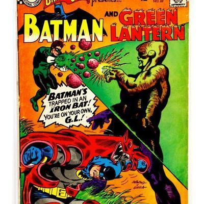 BRAVE and the BOLD #69 BATMAN & GREEN LANTERN 1967 DC Comics