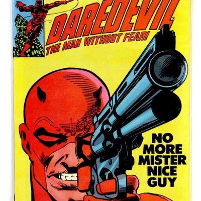 DAREDEVIL #184 Bronze Age Comic Book Frank Miller Art 1982 Marvel Comics High Grade