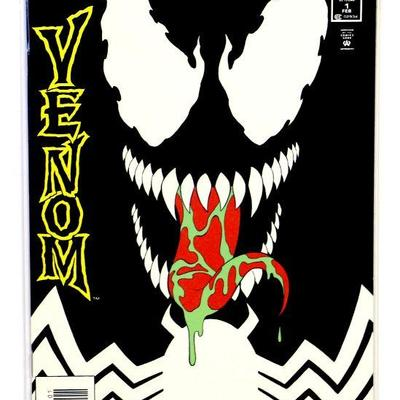 VENOM The Enemy Within #1 Glow-in-the-Dark Cover 1994 Marvel Comics NM