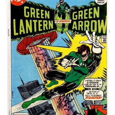 GREEN LANTERN #93 Bronze Age Comic Book 1977 DC Comics