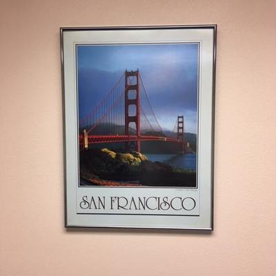 Lot 1010: San Francisco Print