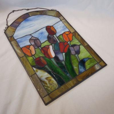 Stained Glass Tuliips