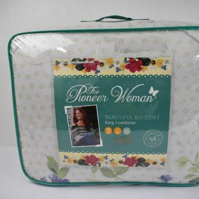 The Pioneer Woman Beautiful Bouquet King Comforter - New