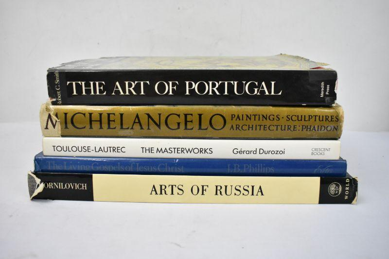 5 Coffee Table Book On Art Portugal To Russia Estatesales Org