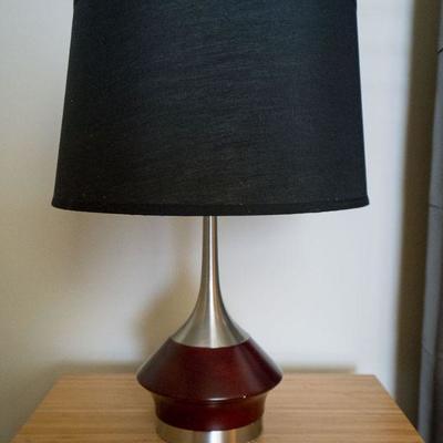 Lot 20 Maroon Lamp