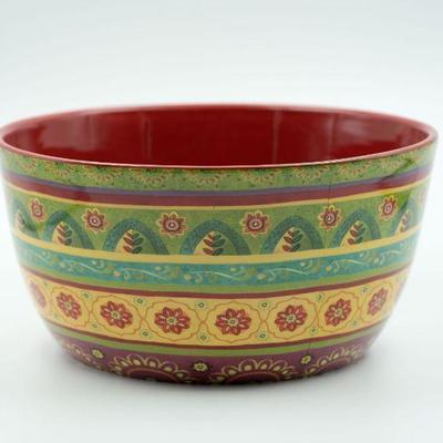 Lot 41 Sue Zipkin Large bowl in Tunisian Sunset