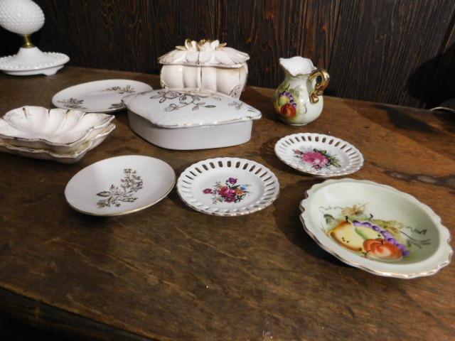 Collection of Red Label Japanese Ceramics