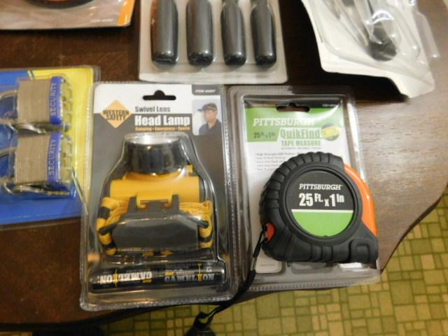Bulk New in Box Tools one pack of screwdrivers has been opened and has on piece missing