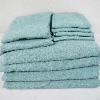 10 Pc Mainstays Towel Set