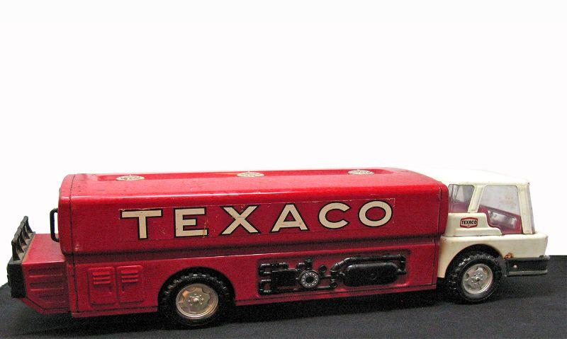 "White Texaco cab truck, 24"" x 6 ½"" WenMac AMF Made in USA"