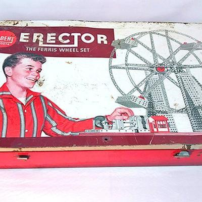10-Erector set, Ferris Wheel Edition