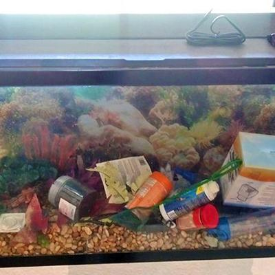 14-Complete Fish Tank Set