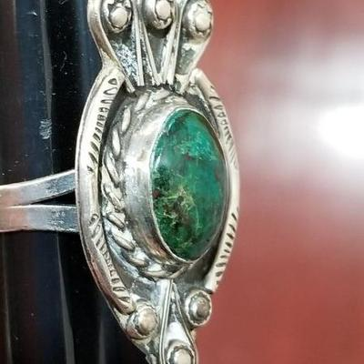 Sterling Large Ring