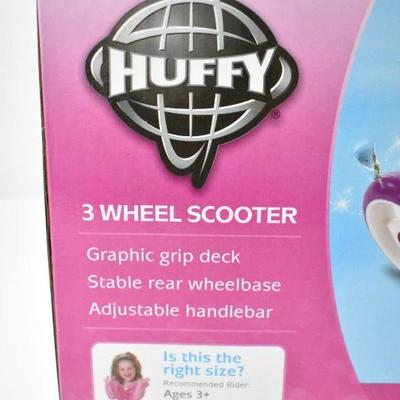 Huffy Disney Princess 3 Wheel Scooter - New