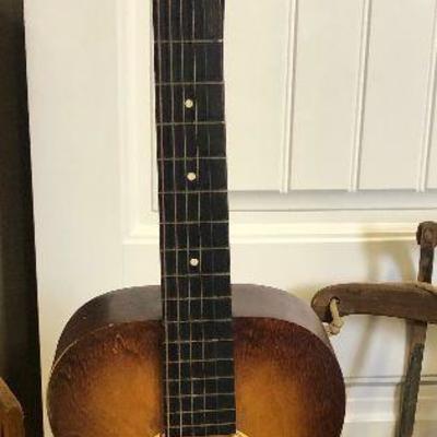 Lot# 002 6 - string Acoustic Guitar