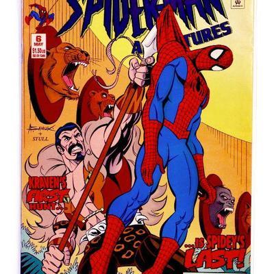 SPIDER-MAN ADVENTURES #6 Newstand Edition 1994 Marvel Comics NM