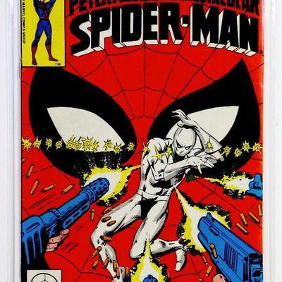 Peter Parker SPECTACULAR SPIDER-MAN #52 Bronze Age Frank Miller Cover 1981 Marvel Comics