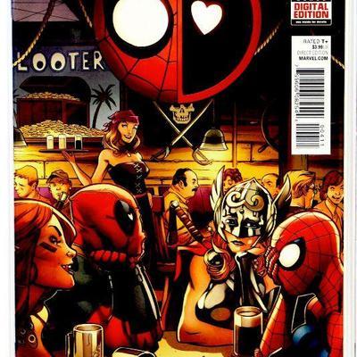 SPIDER-MAN / DEADPOOL #4 #12 #13 Comic Book Set 2016/17 Marvel Comics