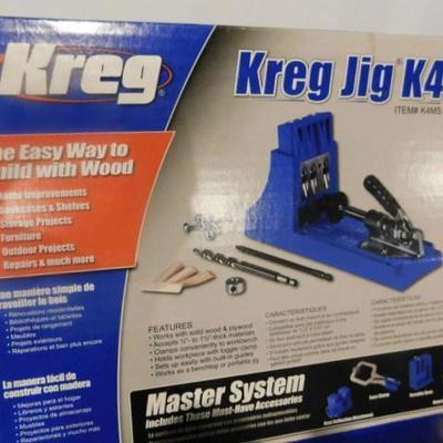 Kreg Pocket Hole Master System Jig K4 Like New