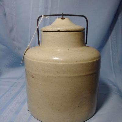 Stoneware Western Jug with Hasp