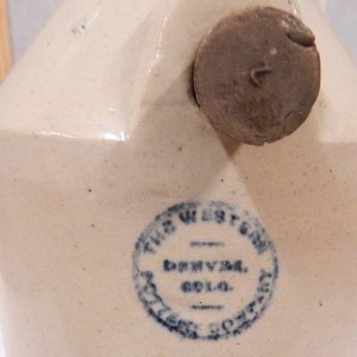 Western Pottery Co Stoneware Foot Warmer w/ Stone Crock