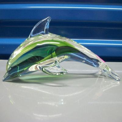 Diving Dolphin Figurine/Paperweight