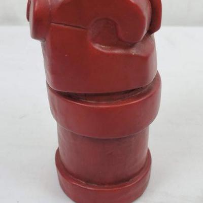 Small Red Fist Coin Bank