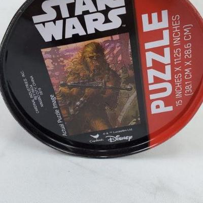 Star Wars Chewbacca Tin with Puzzle - Not Verified