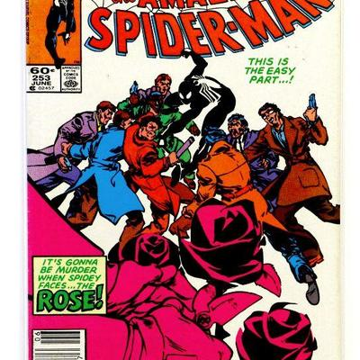 AMAZING SPIDER-MAN #253 - 1st Appearance of Rose 1984 Marvel Comics