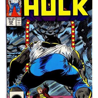 HULK #339 Copper Age Comic Book McFarlane Art 1988 Marvel Comics VF/NM