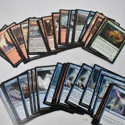 84 Magic the Gathering Cards MTG, 2 Rares, 1 Foil Rare