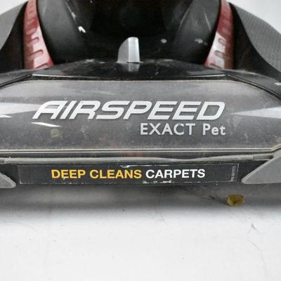 Vacuum, Red & Black, Bagless: Eureka Airspeed Exact Pet - Works