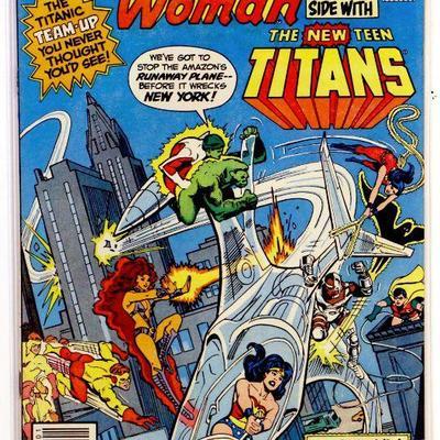 WONDER WOMAN #287 Bronze Age Comic Book TEEN TITANS Issue 1982 DC Comics VF+