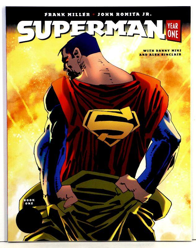 SUPERMAN YEAR ONE #1 FANK MILLER VARIANT 2019 DC BLACK LABEL NM