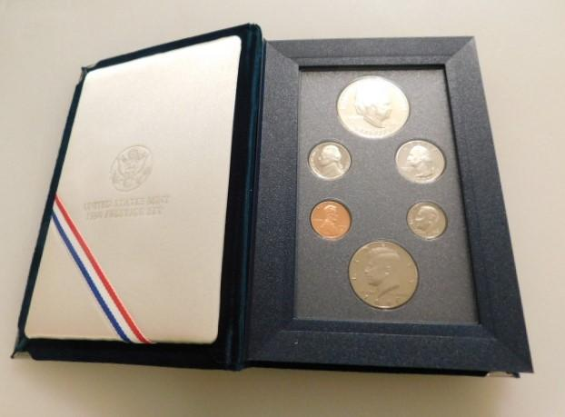 US Mint Presitge 1990 Eisenhower Centennial 6 Coin Set in Original Display Box