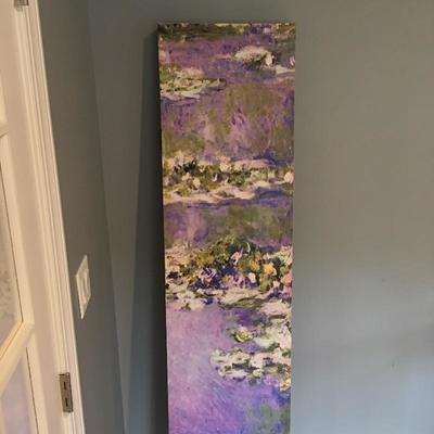 Lot 1 - Colorful Monet Room Screen