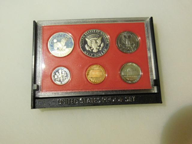 United States 1980 Proof Coin Set
