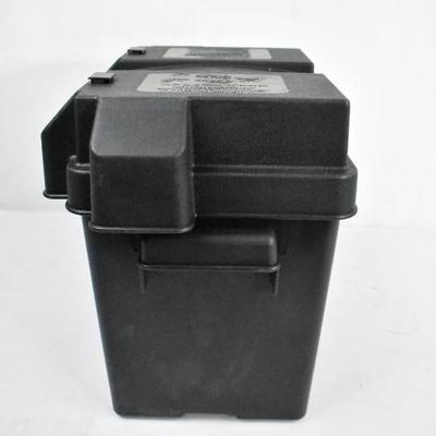 Battery Box with Snap Top NOCO HM306BK Single 6 Volt, Black - New