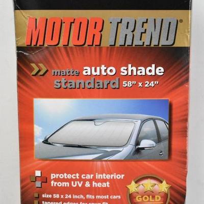 Matte Auto Shade Standard 58