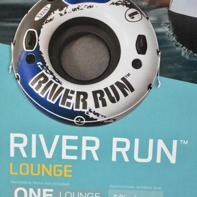Intex River Run 1 Lounge Floating Tube - New