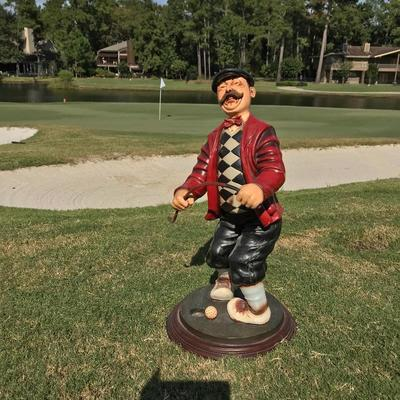 Standing Golfer