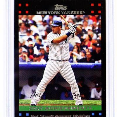 2007 TOPPS #NYY50 MELKY CABRERA NY Yankees Limited Edition BASEBALL CARD - MINT