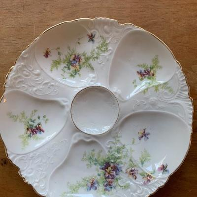 AUSTRIA OYSTER PLATE