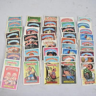 43 Garbage Pail Kids Collectible Cards, Series 2+ Vintage