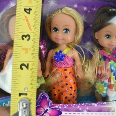 Funville Sparkle Girlz Doll Set, Little Friends Collection - 1 Doll Damaged