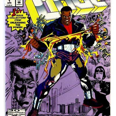 CAGE #1 Unleashing The Power LUKE CAGE 1992 Marvel Comics NM