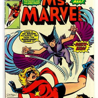 MS. MARVEL #9 - 1st Appearance Deathbird Key Bronze Age Comic Book 1977 Marvel Comics VF+