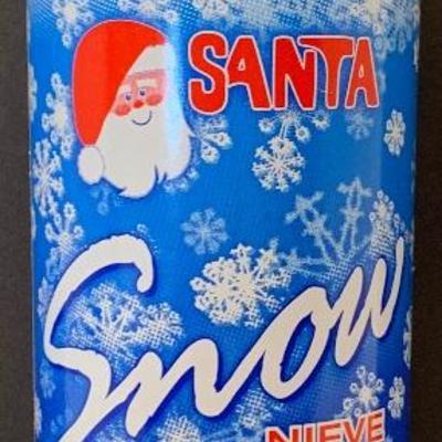 Santa Snow 13 oz Christmas Tree & Decoration Snow - NEW
