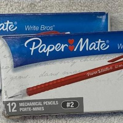 Two Boxes Paper Mate Mechanical Pencils (12 per box) - NEW